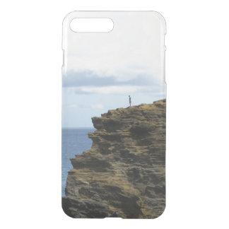 Figure solitaire sur une falaise coque iPhone 8 plus/7 plus