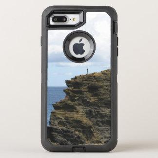 Figure solitaire sur une falaise coque otterbox defender pour iPhone 7 plus