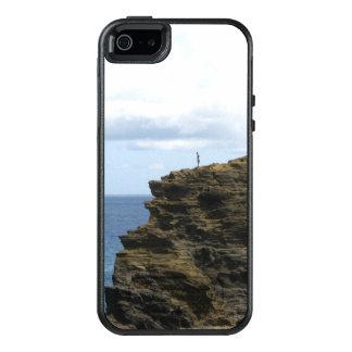 Figure solitaire sur une falaise coque OtterBox iPhone 5, 5s et SE