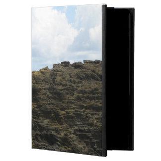 Figure solitaire sur une falaise coque powis iPad air 2
