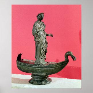 Figurine de la déesse Sequana Poster