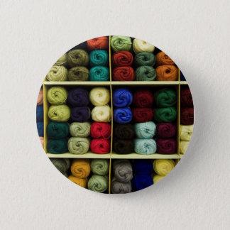 Fil à tricoter badge