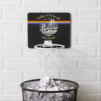 Filet de basket-ball de fierté de meilleur ami de mini-panier de basket