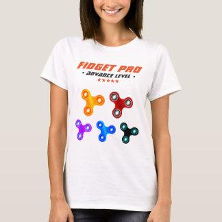 Fileur professionnel drôle de personne remuante t-shirt