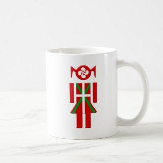 Fille Basque drapeau Euskadi Bayonne Mug