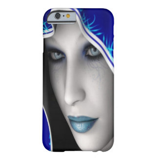 Fille bleue d'imaginaire coque iPhone 6 barely there