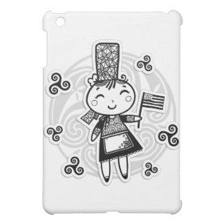 Fille bretonne étuis iPad mini