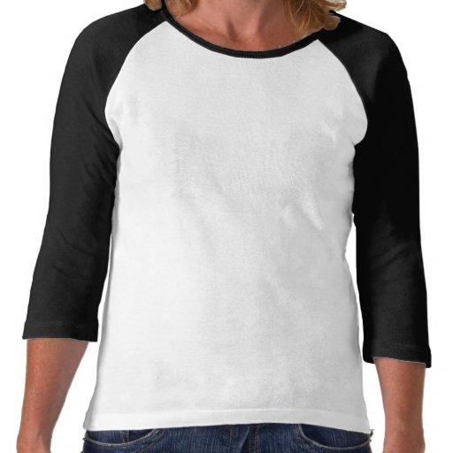 Fille de bannière de Derby de rouleau T-shirts