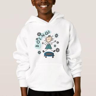 Fille de bâton sur le T-shirts et les cadeaux de