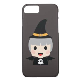 Fille de batte de Halloween Coque iPhone 7