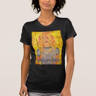 fille de batteur de rythmes de tambour t-shirt