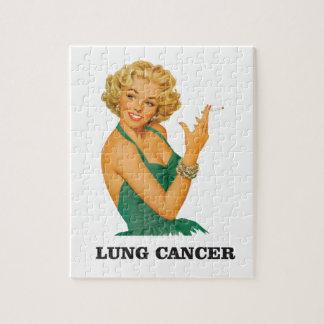 fille de cancer de poumon puzzle