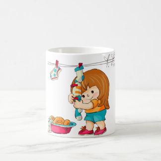 Fille de Caneca Mugs