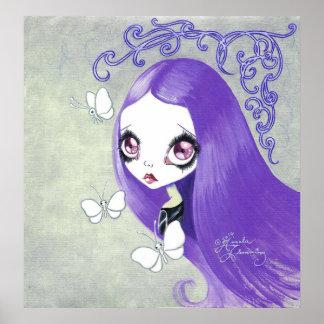 """Fille de Goth : """"Violetta """" Posters"""