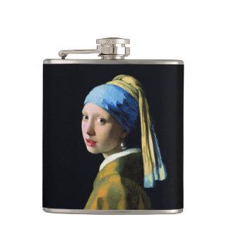 Fille de janv. Vermeer avec un art du baroque de