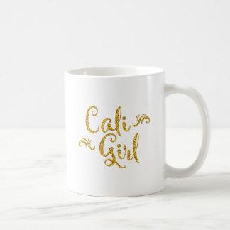 Fille de la Californie Mug