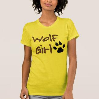 Fille de loup t-shirts