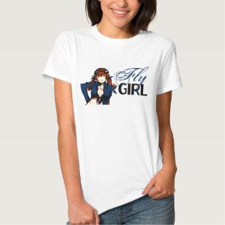 Fille de mouche d'Anime T-shirt