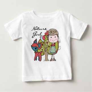 Fille de nature t-shirt pour bébé