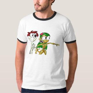 Fille de pâtes et garçon de Mayo T-shirt