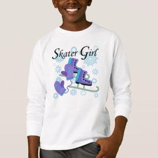 Fille de patineur t-shirt
