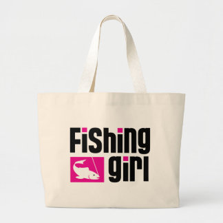 Fille de pêche grand sac