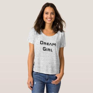 Fille de rêve - le T-shirt court Slouchy des