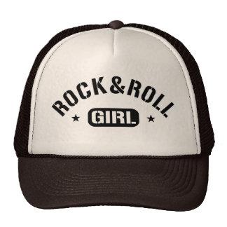 Fille de rock casquette de camionneur