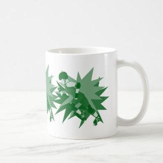 Fille de rouleau mug