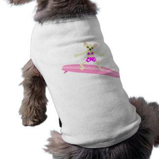 Fille de surfer de Longboard de chiwawa T-shirt Pour Chien