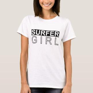 FILLE DE SURFER T-SHIRT