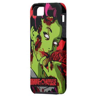 Fille de zombi de cas de l'iPhone 5 de zombi Étuis iPhone 5