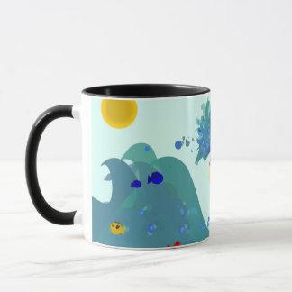 Fille d'océan mug