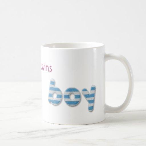 fille et garçon brouillés mug à café