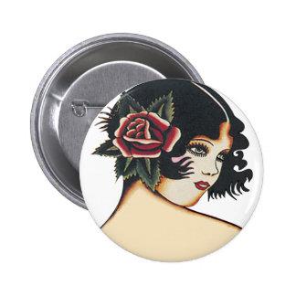 Fille Girly vintage Badges