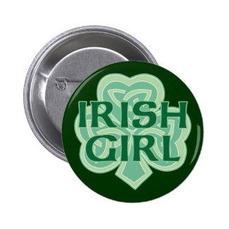 Fille irlandaise badge