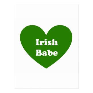 Fille irlandaise cartes postales