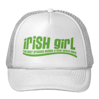 Fille irlandaise casquette de camionneur