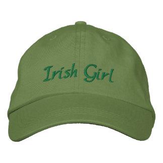 Fille irlandaise casquette brodée
