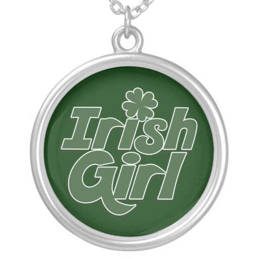 Fille irlandaise bijouterie personnalisée