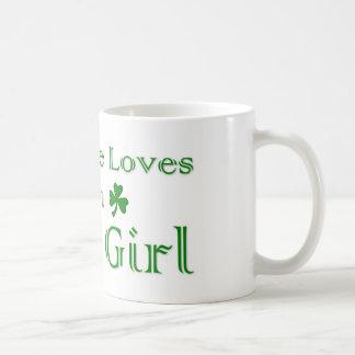 Fille irlandaise mug