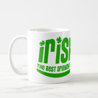 Fille irlandaise mug blanc