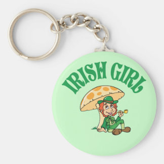 Fille irlandaise porte-clef