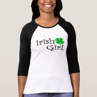 Fille irlandaise t-shirts