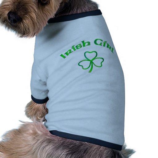 Fille irlandaise manteaux pour toutous
