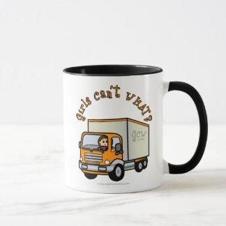 Fille légère de camionneur mug