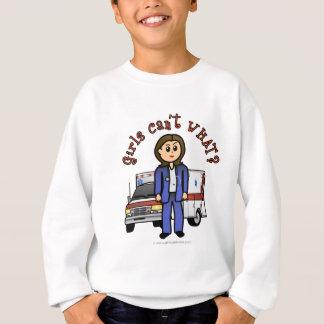 Fille légère d'infirmier d'EMT Sweatshirt