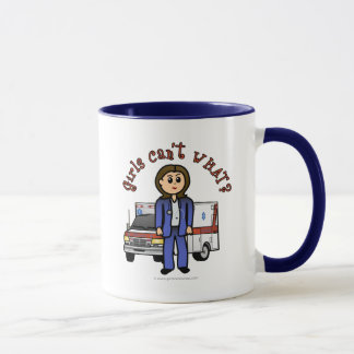 Fille légère d'infirmier mug