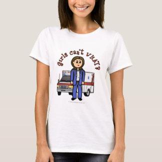Fille légère d'infirmier t-shirt