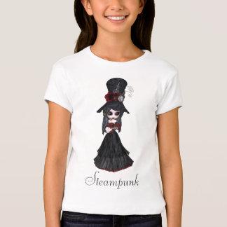 Fille mignonne de Steampunk Goth T-shirt